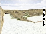 карта - de_dust2_2x2_snow