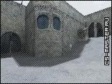 карта - de_dust2_winter